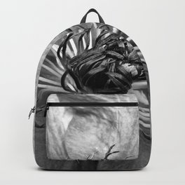 Clematis in B & W Backpack