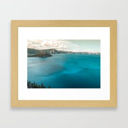 Summer At The Lake Framed Art Print