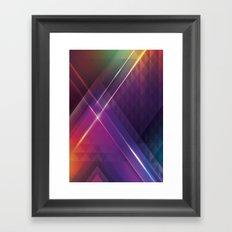 Retro Framed Art Print