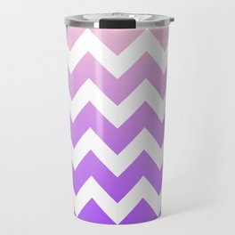 Gradiant Chevron Travel Mug