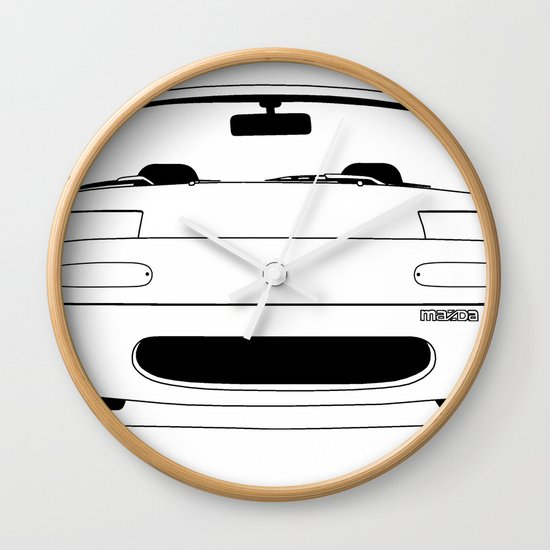NA Miata/MX-5 Wall Clock