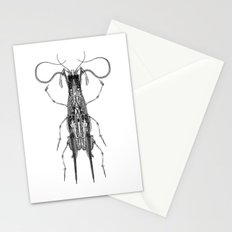 Entomologic Bones Stationery Cards