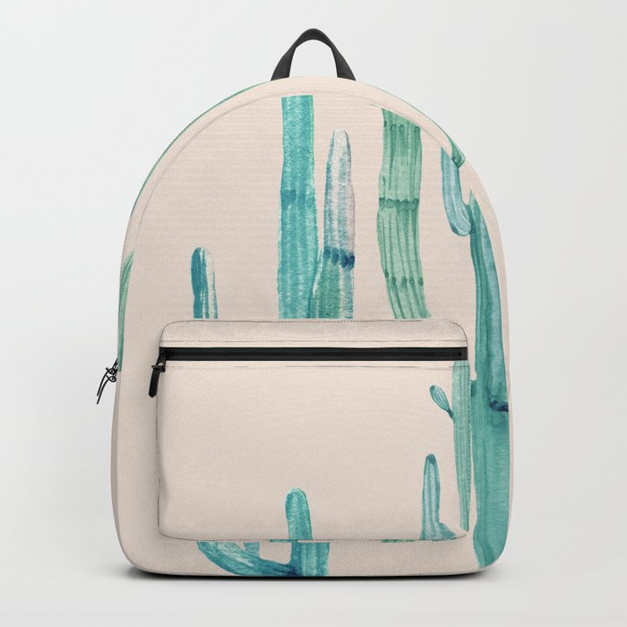 Three Amigos Turquoise + Coral Backpack
