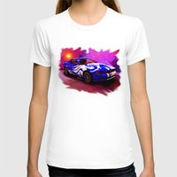 mustang T-shirts featuring Wild Mustang by JT Digital Art