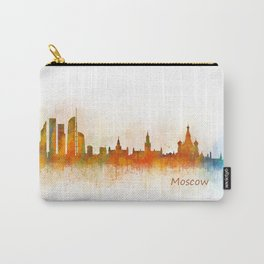 Moscow City Skyline art HQ v3 Carry-All Pouch