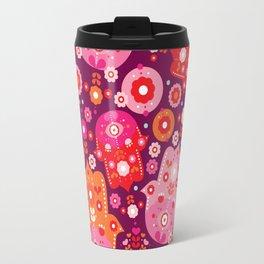 Traditional hamsa illustration hand of fatima oasis Travel Mug