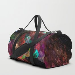 Two beings from other worlds Duffle Bag