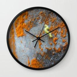 Inchworm Wall Clock