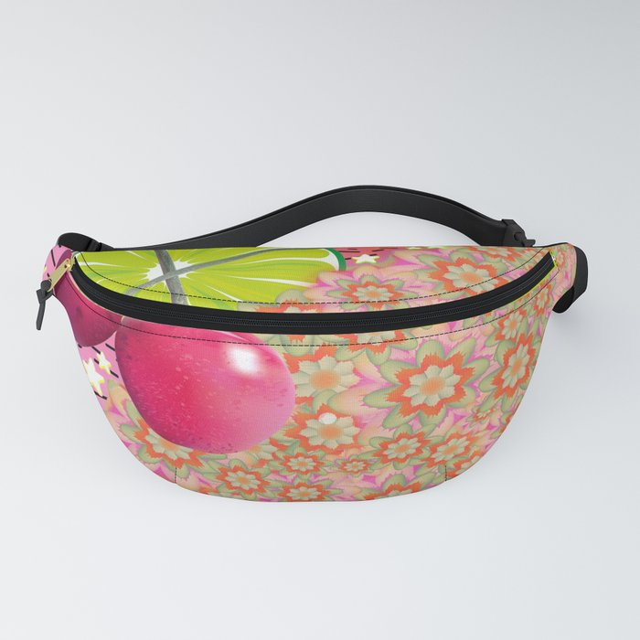 Candied Fruities, Flowered Cooties Fanny Pack
