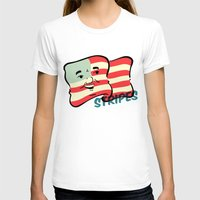 stripes T-shirts featuring Stripes by Derek Eads