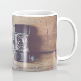 all you need for a weekend in the country ... a travel guide & a vintage camera Coffee Mug