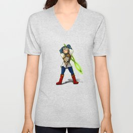 A Link to the Oni Unisex V-Neck