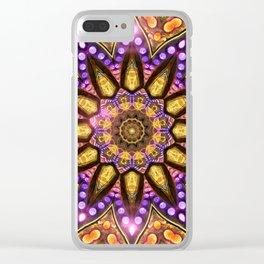 Bohemian Sun Clear iPhone Case