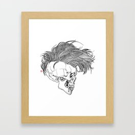 Death is New Punk Framed Art Print