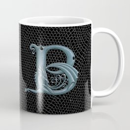 Dragon Letter B, from Dracoserific, a font full of Dragons. Coffee Mug