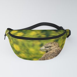Hawk in sunflowers Fanny Pack