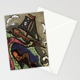 the seven seas Stationery Cards