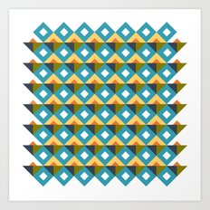MRABA pattern 4 Art Print
