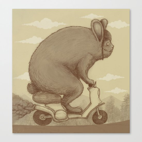 Adventure Ride Canvas Print