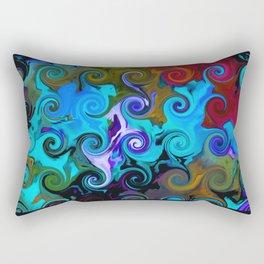 Curlz 3 Rectangular Pillow