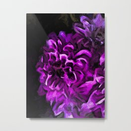 Flowers of Lavender and Pink 3 Metal Print