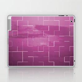 Labyrinth pink Laptop & iPad Skin