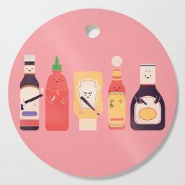 Ex-Condiments Cutting Board
