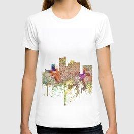 Lubbock, Texas Skyline - Faded Glory T-shirt