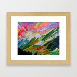 Coquihalla Sunrise Framed Art Print