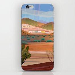 Copper Town (Square) iPhone Skin