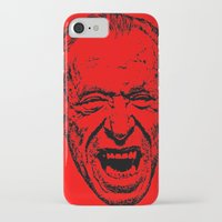 literature iPhone & iPod Cases featuring Outlaws of Literature (Charles Bukowski) by Silvio Ledbetter