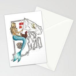 Rhode Island Mermaid Stationery Cards