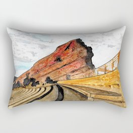 Red Rocks 2016 Rectangular Pillow