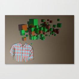 Camisa Canvas Print