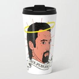 We don't deserve St. Jack Pearson. Travel Mug