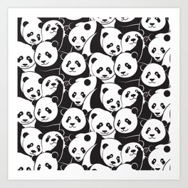 Pandamic Art Print