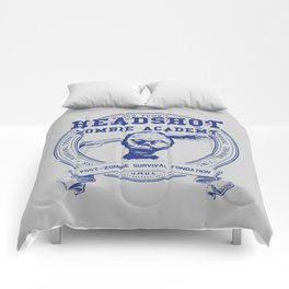 Headshot Zombie Academy Comforters