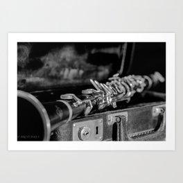 CLARINET CLASSIC Art Print