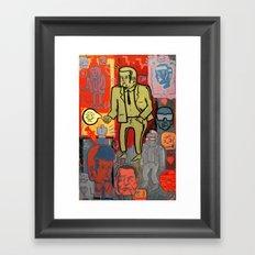 all or nothing Framed Art Print