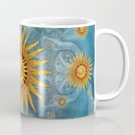 """""""Saturn mandala celestial vault"""" Coffee Mug"""
