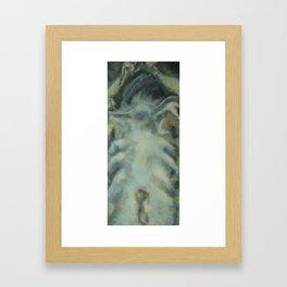 The Back Framed Art Print
