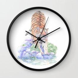 Tiger Oasis Wall Clock