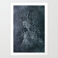 devil Art Prints featuring Devil by Maciej Kamuda