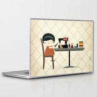 dress Laptop & iPad Skins featuring DRESS MAKER by yael frankel