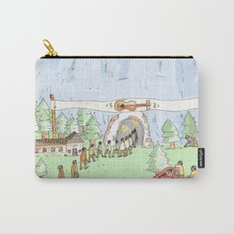 The Mountian. Carry-All Pouch