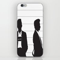 johnny cash iPhone & iPod Skins featuring Johnny Cash by Jarom Ward