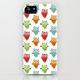 Owl Fun iPhone Case