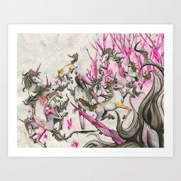 Tame Art Print