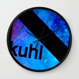 Kuhl Blue K Wall Clock