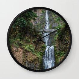 Multnomah Falls, Oregon Wall Clock
